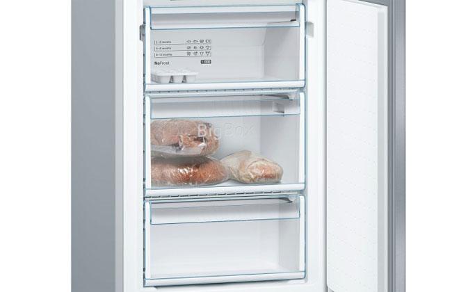 Морозильная камера в Bosch KGN39VL17R