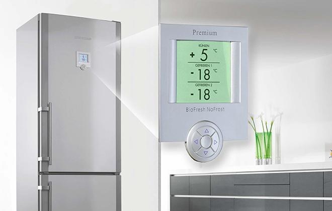 Настройка температуры холодильника Samsung