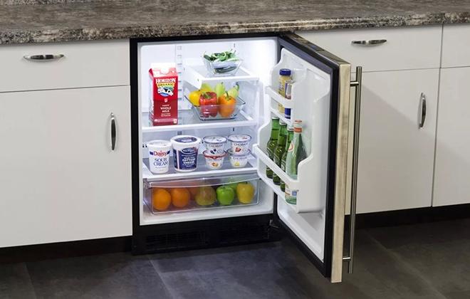 Нестандартный мини-холодильник