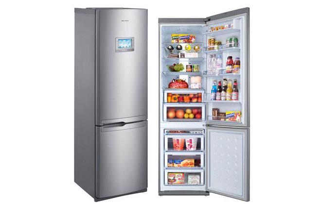 Новый холодильник Самсунг с экраном