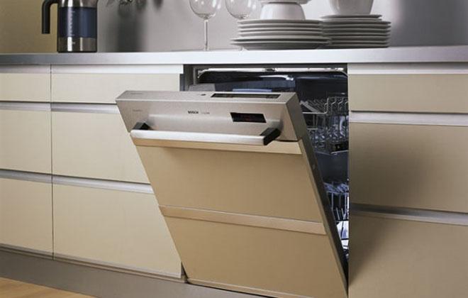 Посудомойка на кухне встроенная