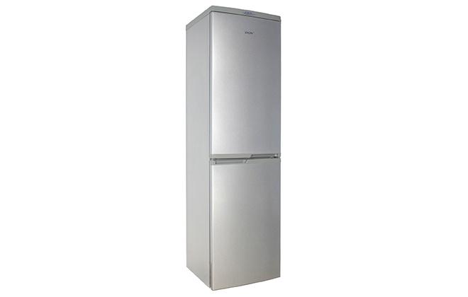 Серебристый холодильник Don R-297