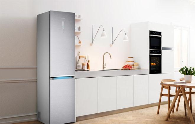 Техника Samsung в интерьере кухни