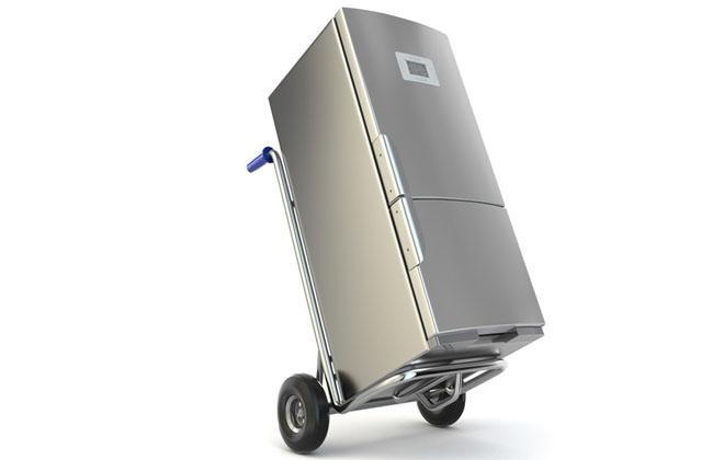 Транспортировать холодильник