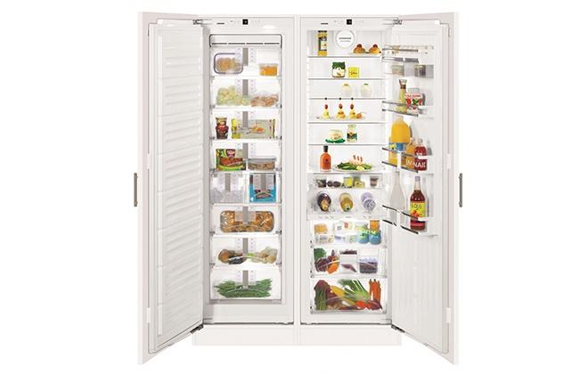 Встраиваемый холодильник Side-by-Side Liebherr