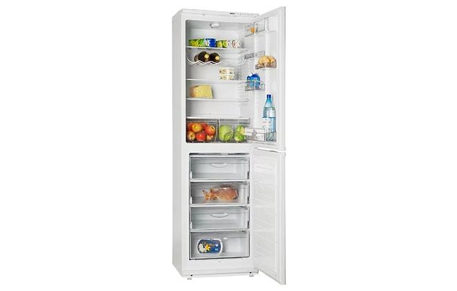 Холодильник Атлант 6025-031 с продуктами