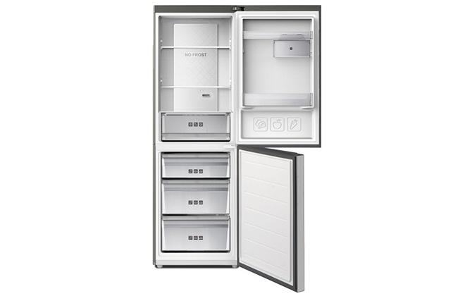 Холодильник Haier C3F532CMSG внутри