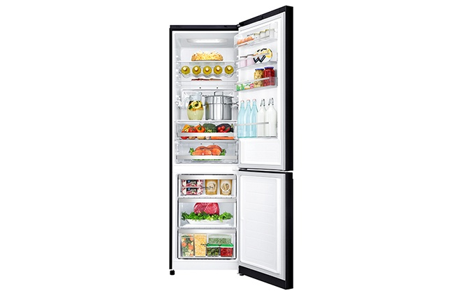Холодильник LG GA-B499TGBM в открытом виде