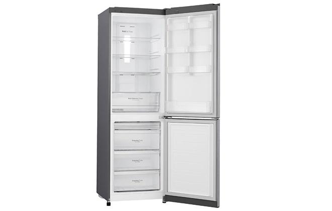 Холодильник LG GA E429SMRZ внутри