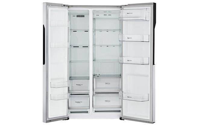 Холодильник LG GC-B247JVUV внутри