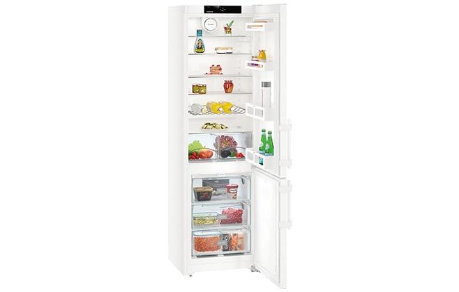 Холодильник Liebherr CNesf 4015-20 с открытыми дверцами