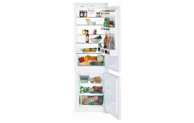 Холодильник Liebherr Icuns 3324 с продуктами