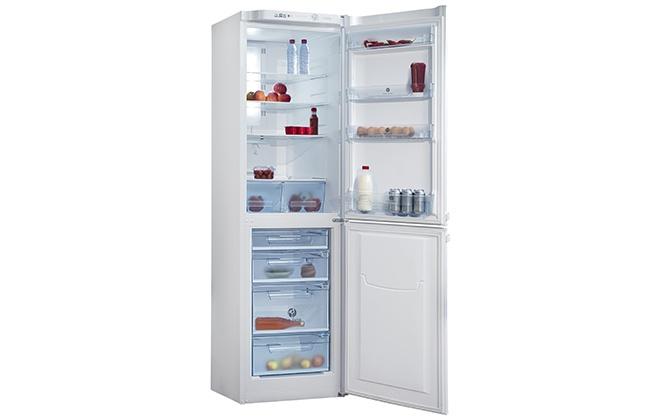 Холодильник Pozis RK FNF-172 с открытыми дверцами