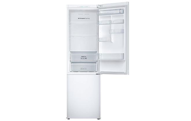 Холодильник Samsung RB37J5000WW с открытой верхней дверцей