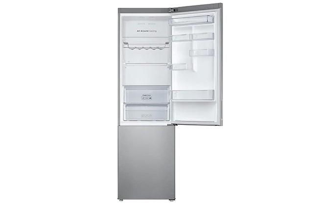 Холодильник Samsung RB37J5240SA с открытой дверцей
