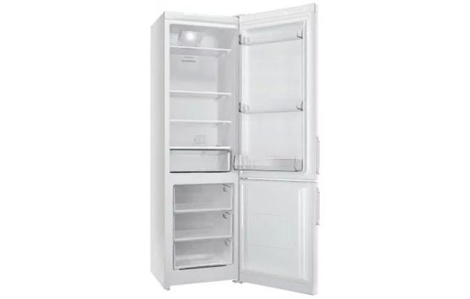 Холодильник Stinol STN 167 с открытыми дверцами
