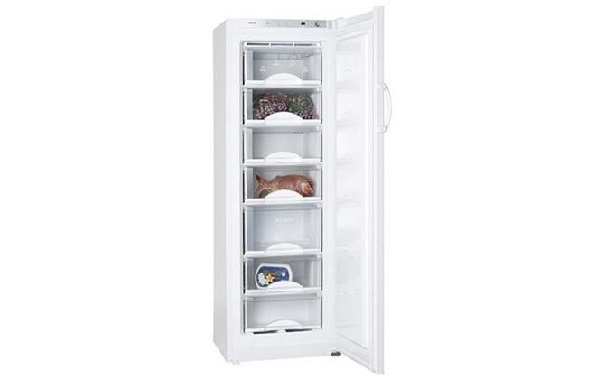 Морозильная камера Атлант 7204-100 с продуктами