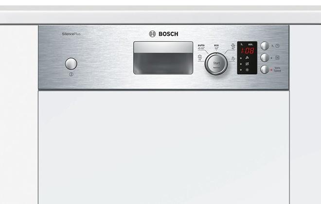 Панель управления посудомойкой Bosch
