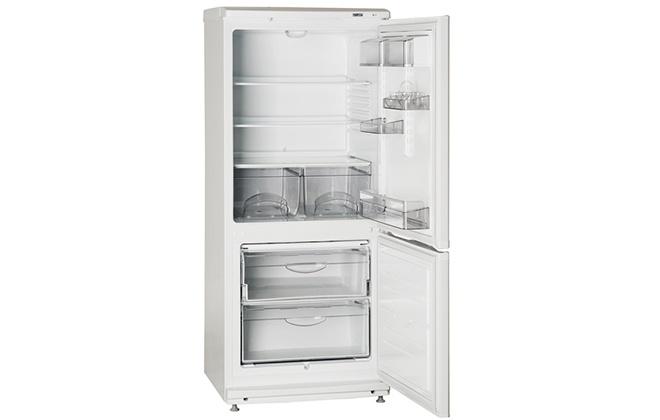 Пустой холодильник Атлант ХМ 4008-022