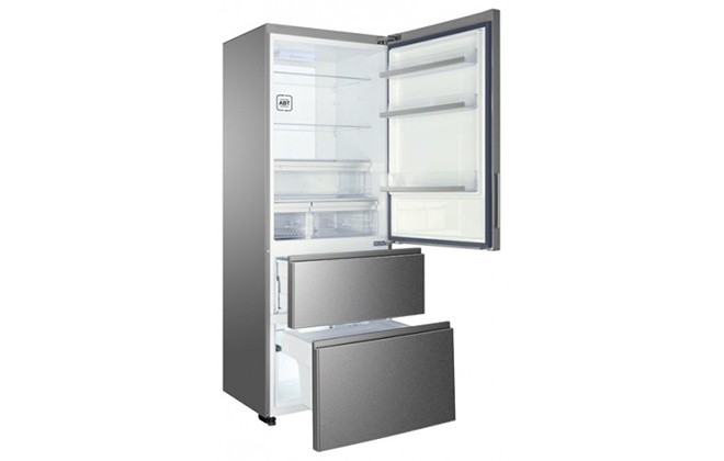 Серебристый холодильник Haier A2F637CXMV