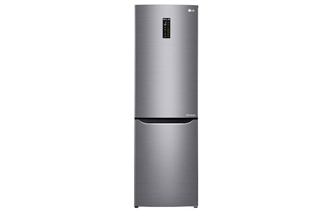 Серебристый холодильник LG GA E429SMRZ