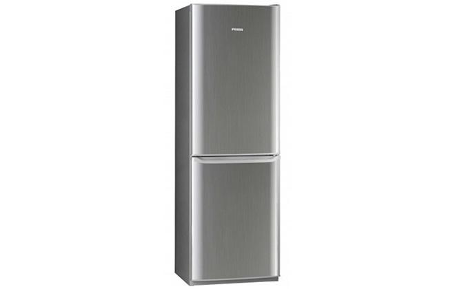 Серебристый холодильник Pozis RK-139