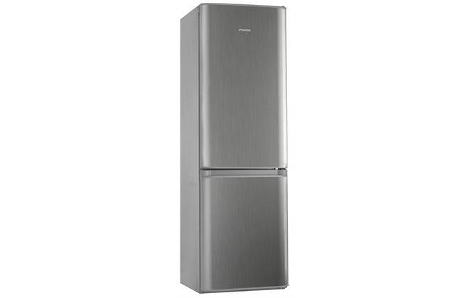 Серебристый холодильник Pozis RK-149