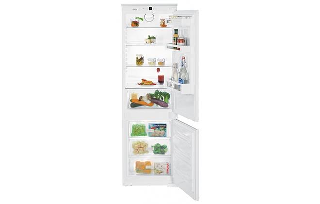 Встраиваемый холодильник Liebherr ICUS 3324 с открытыми дверцами