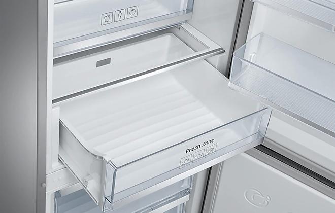 Выдвижной ящик в холодильнике Samsung