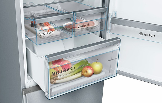 Выездной ящик холодильника Bosch Vitafresh Serie 4