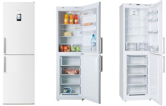 Холодильник Атлант двухкамерный двухкомпрессорный Ноу Фрост для дома