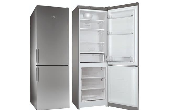 Холодильник Стинол открытый