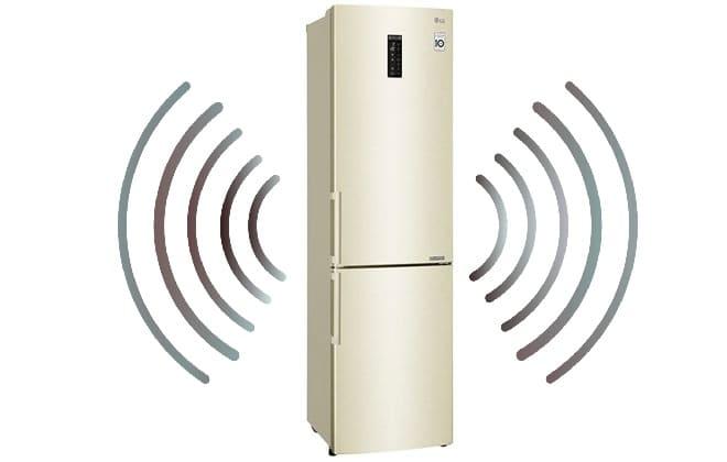 Какой уровень шума холодильника