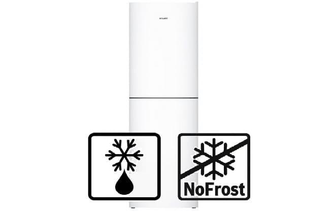 Капельная и No Frost система разморозки холодильника