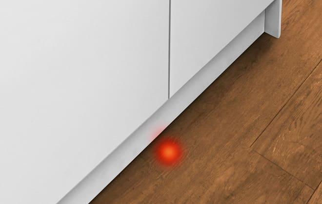 Луч на полу от посудомоечной машины что это