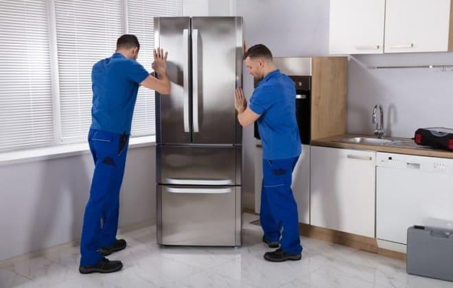 Неверная установка холодильника