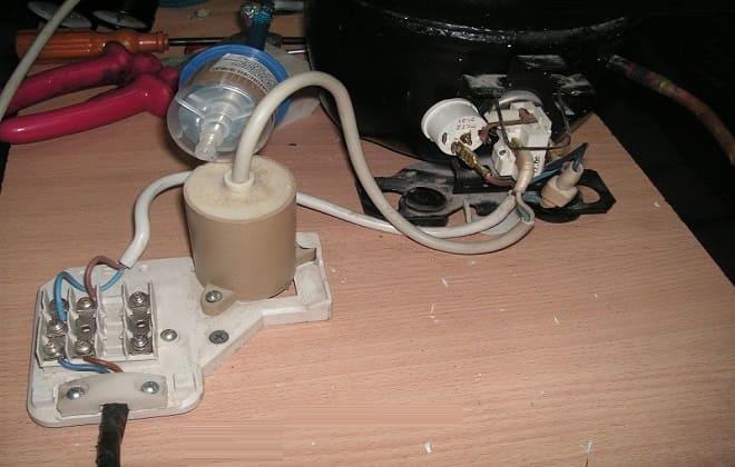 Подключение без конденсатора