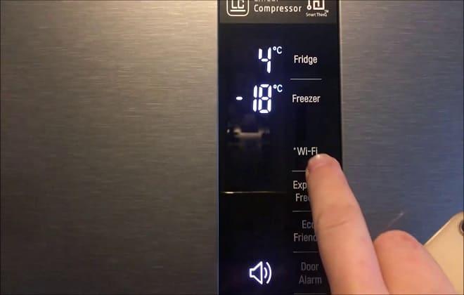 Подключение холодильника к Wi-Fi