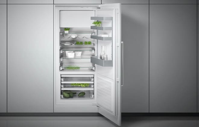 Шкаф для встраиваемого двухкамерного холодильника