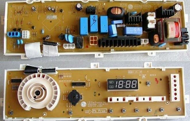 Электроконтроллер стиралки LG