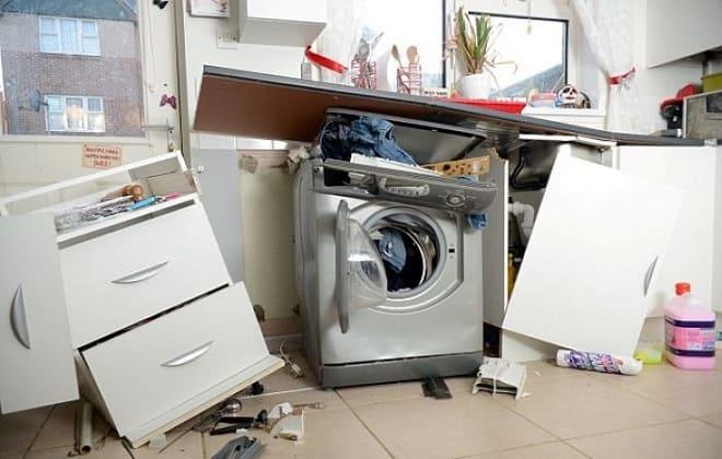 Как правильно установить стиральную машину чтобы она не прыгала