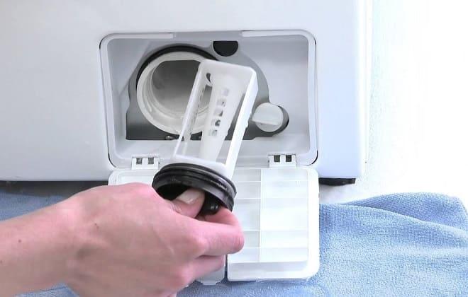 Как самому почистить фильтр в стиральной машине Самсунг