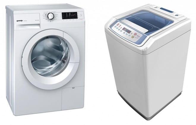Какая стиральная машина лучше с вертикальной загрузкой или фронтальной для дома