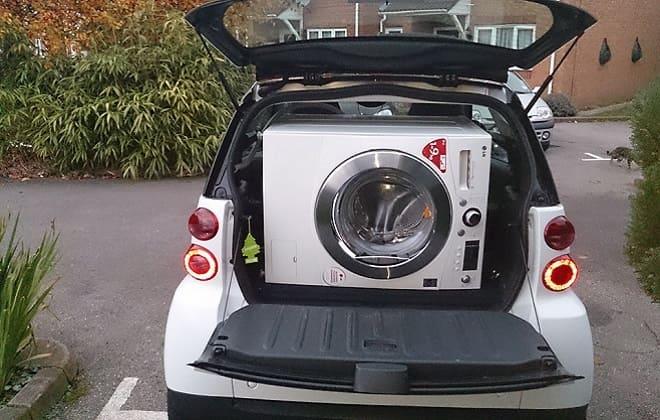 Можно ли перевозить стиральную машину автомат лежа в машине