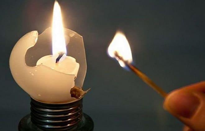 Отсутствие электричества