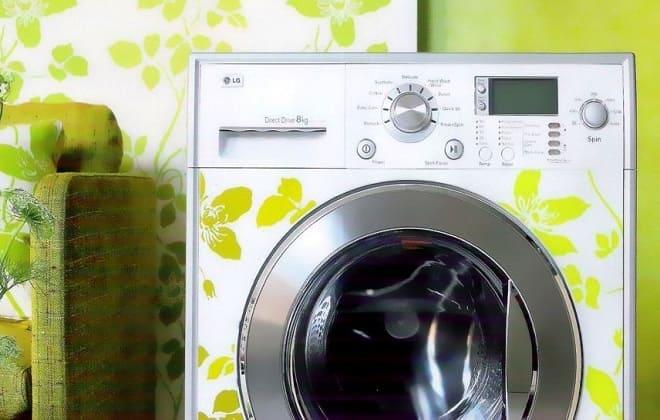 Первый запуск стиральной машины Lg