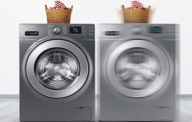 Почему прыгает стиральная машина по полу