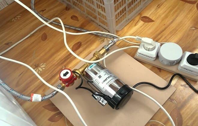 Подключение стиралки к насосу
