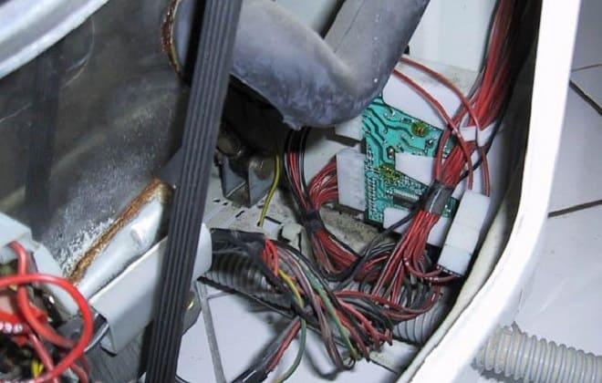 Проблемы с проводами в стиралке Аристон