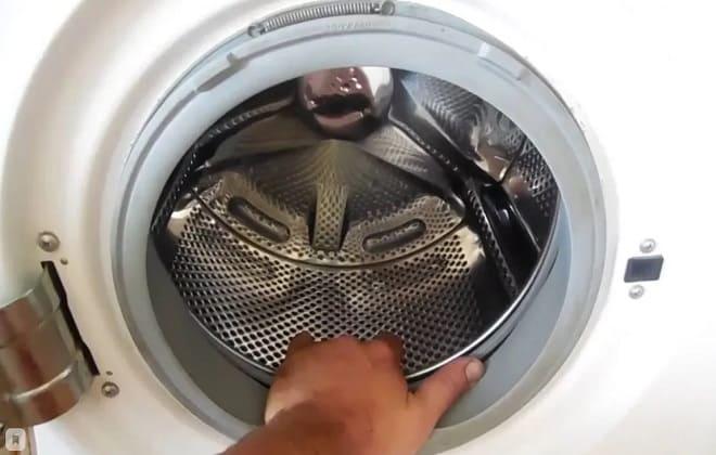 Проверить люфт в стиралке